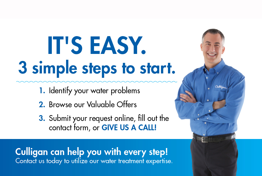 water problems, valuable offers